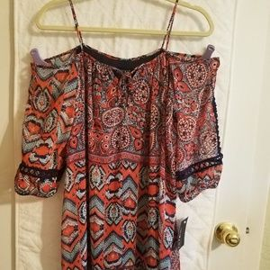 Enfocus Studio Cold shoulder dress size 4